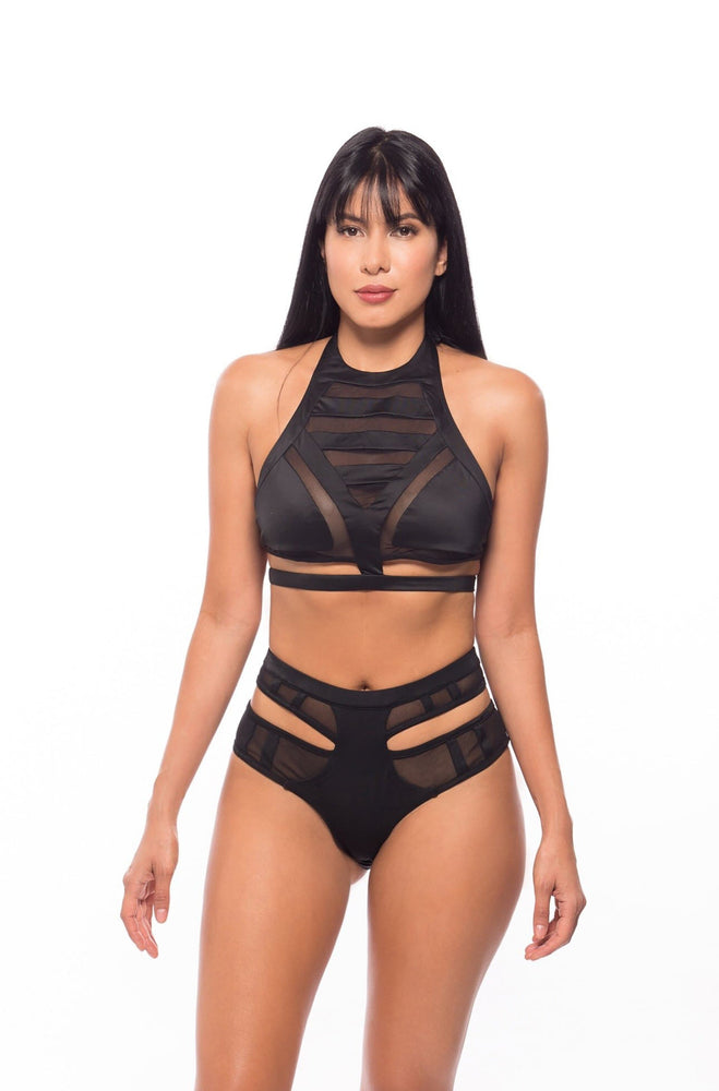 Irene's Paradise - Black two piece