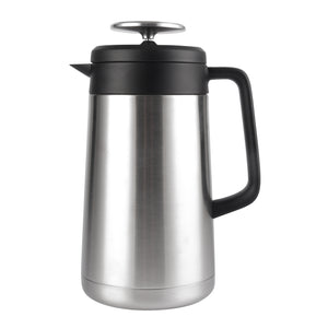 Stainless Steel French Press Coffee Maker (34 oz / 1 Liter)