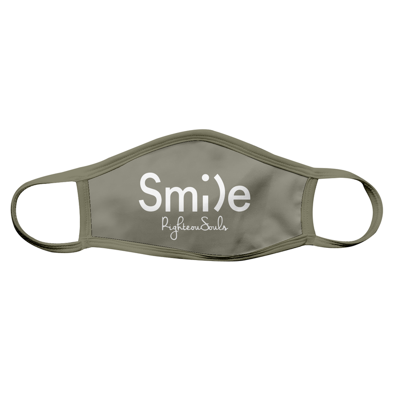 Smile Face Mask - RighteouSouls