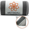 Anchor-Fit Yoga Towel - Gray - Mettadali Yoga