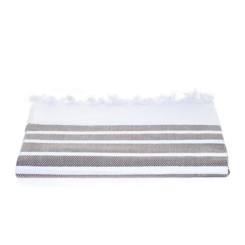 Izmir Towel - Brown