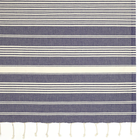 Galata Towel - Navy