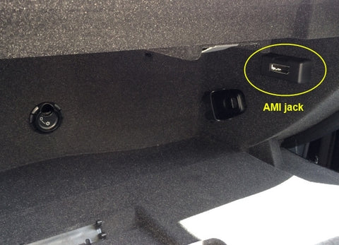 audi bluetooth adapter for ami port