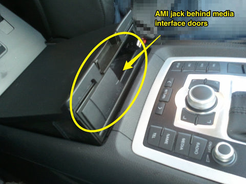 audi q7 ami port for bluetooth adapter