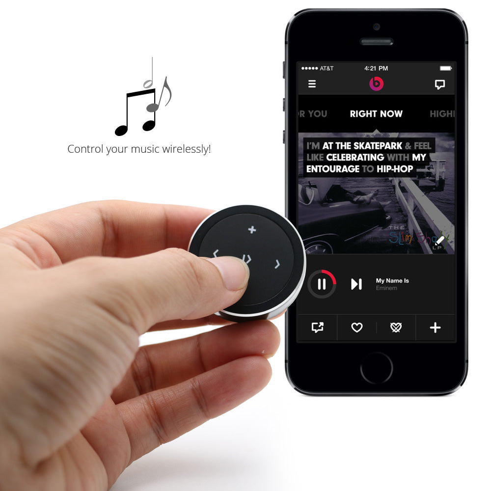 audistream2air remote controls for music and voice commands