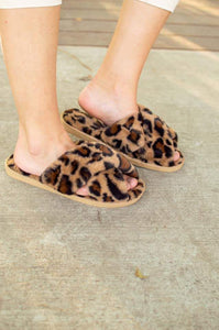 Ultra Fuzzy Animal Print House Shoes ETA November 1