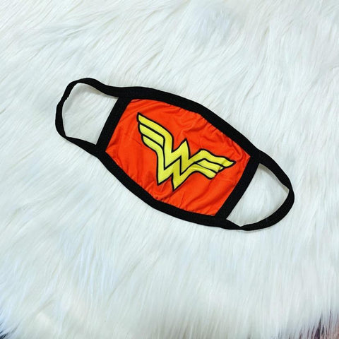 Superhero-Wonderwoman Facemask