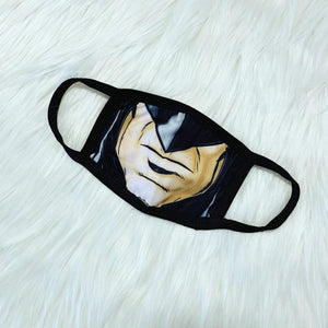 Superhero-Batman Face Facemask
