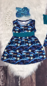 Rawrsome! Dinosaur Dress