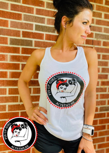 Pin-Up Girl Tank Top. ***Pre-Order***