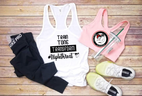 Pin-Up Girl #TripleThreat Tank Top ***pre-order***
