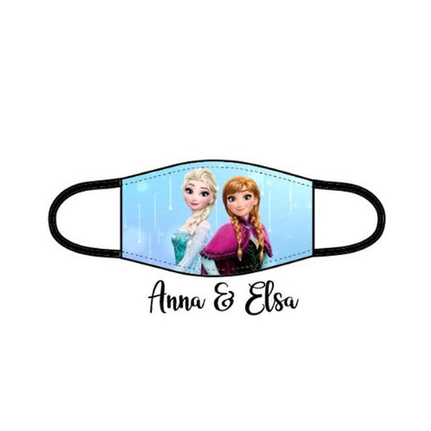 Princess Facemask - Anna & Elsa