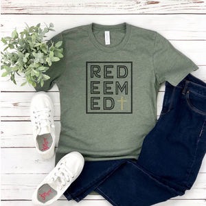 Redeemed - Graphic Tee - RTS