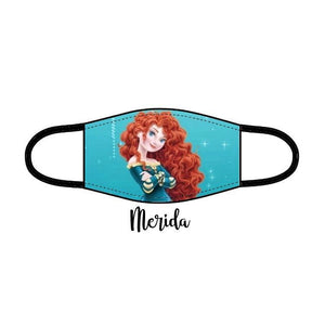 Princess Facemask - Merida