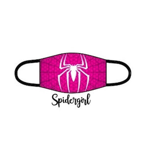 Superhero Facemask - Spider Girl