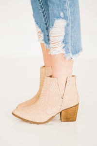 Not Rated Tarim Bootie in Blush
