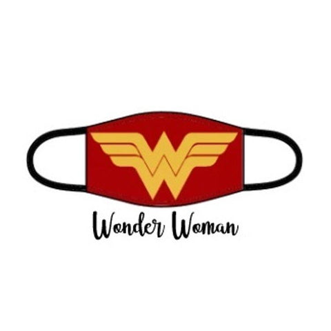Superhero Facemask - Wonder Woman