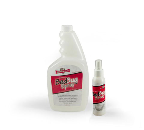 Travel Bed Bug Spray Set