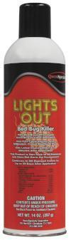 14  oz. Lights Out Bed Bug Killer Aerosol