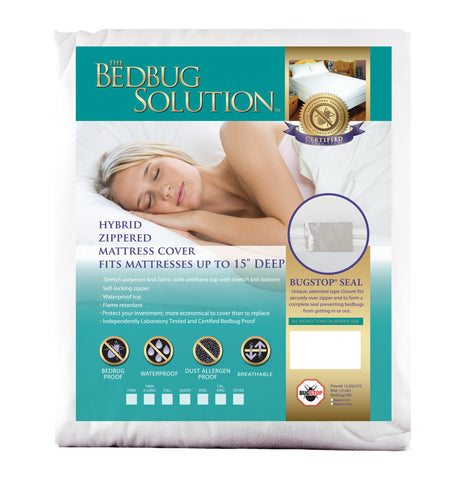 The Bedbug Solution Mattress Cover