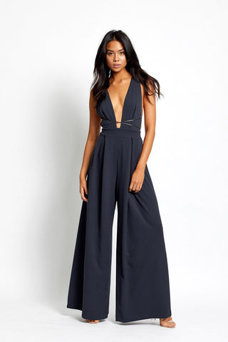 Khloe Jumpsuit in Navy