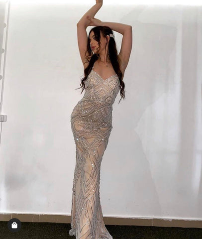 Helena Beaded Gown