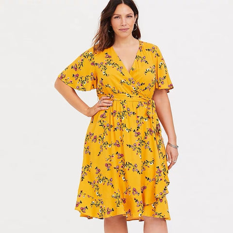 Layla Wrap dress