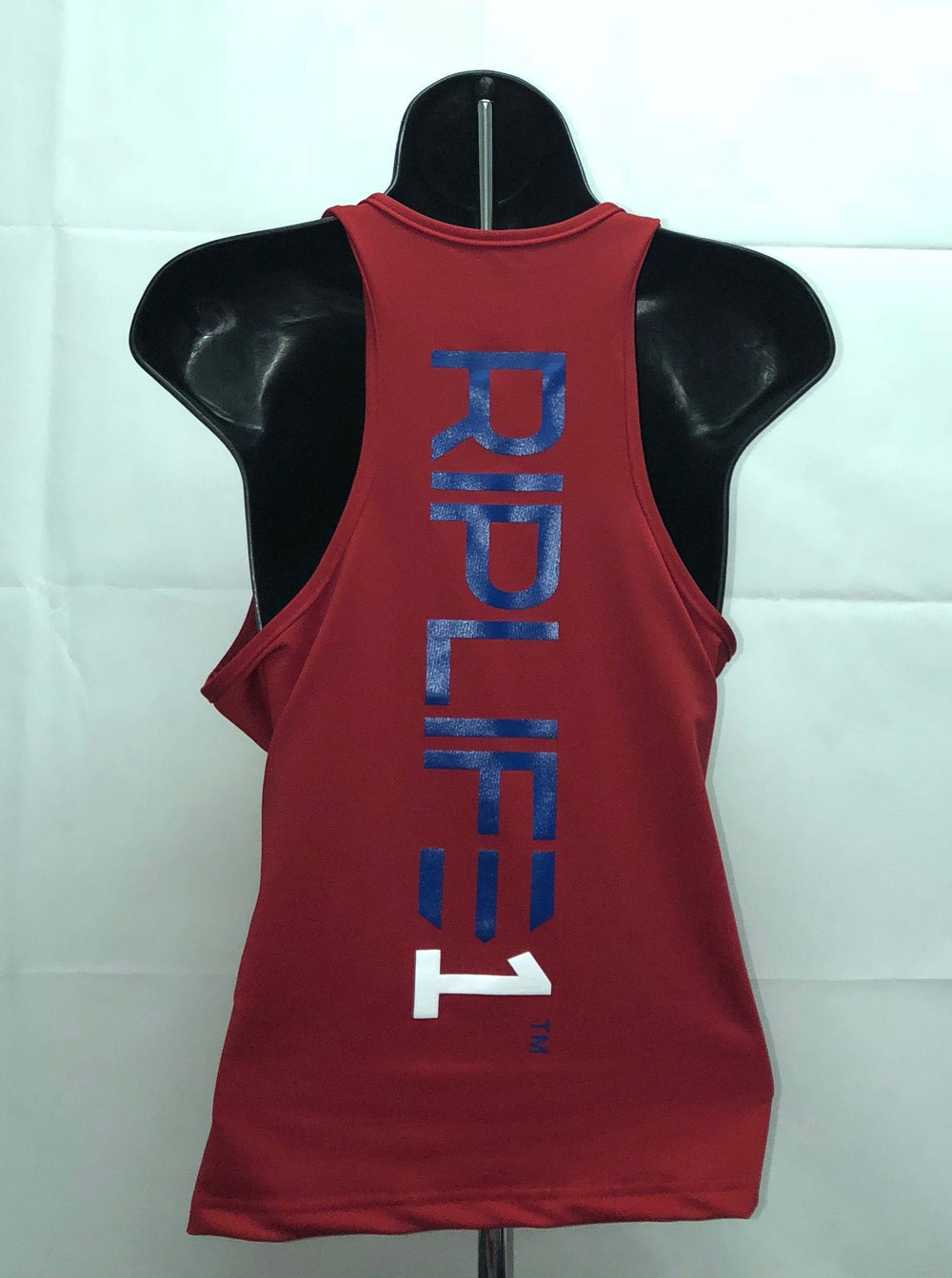 Women's Poly-Spandex RED Racerback Tank - RIPLIFE1