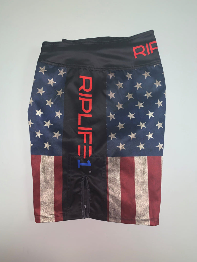 MMA SHORTS - TEAM REAPER - - RIPLIFE1