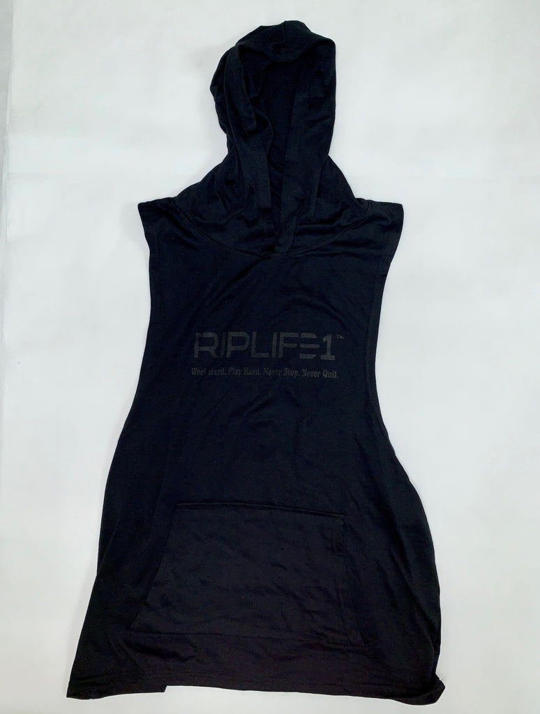 RIPLIFE1 Men's Sleeveless Hoodie T-shirt - RIPLIFE1