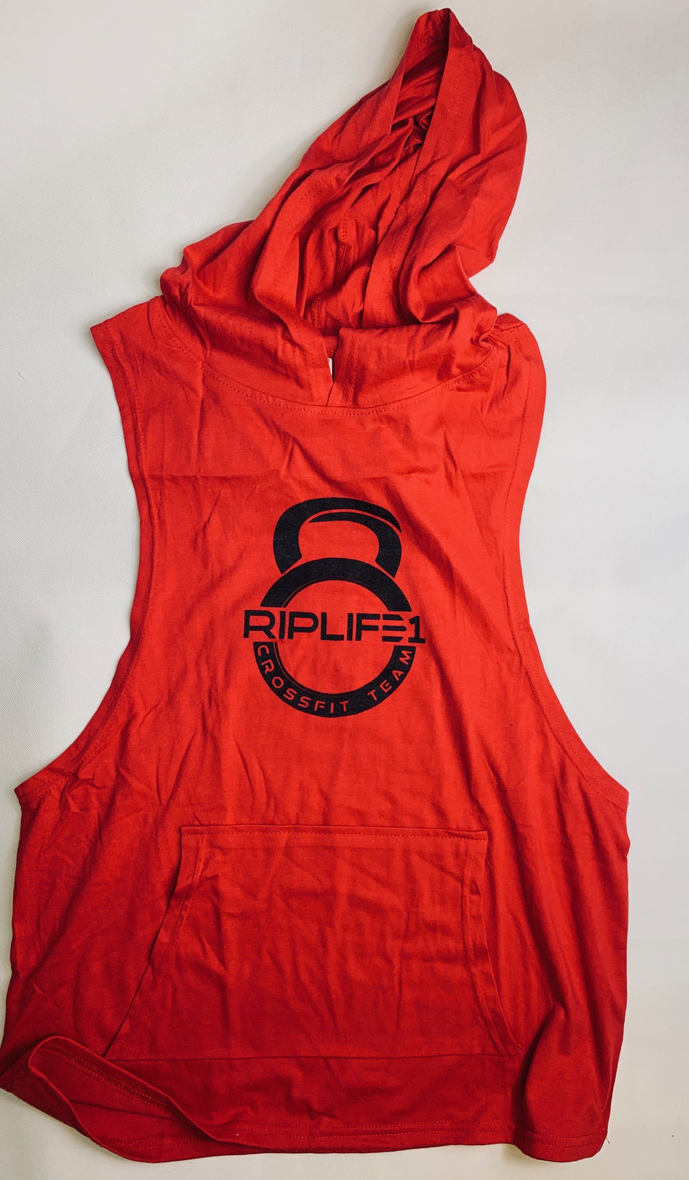 RIPLIFE1  Cross Fit Sleeveless Hoodie T-shirt - RIPLIFE1
