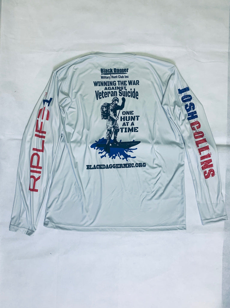 RIPLIFE1- JOSH COLLINS- BDMHC - LONGSLEEVE - RIPLIFE1