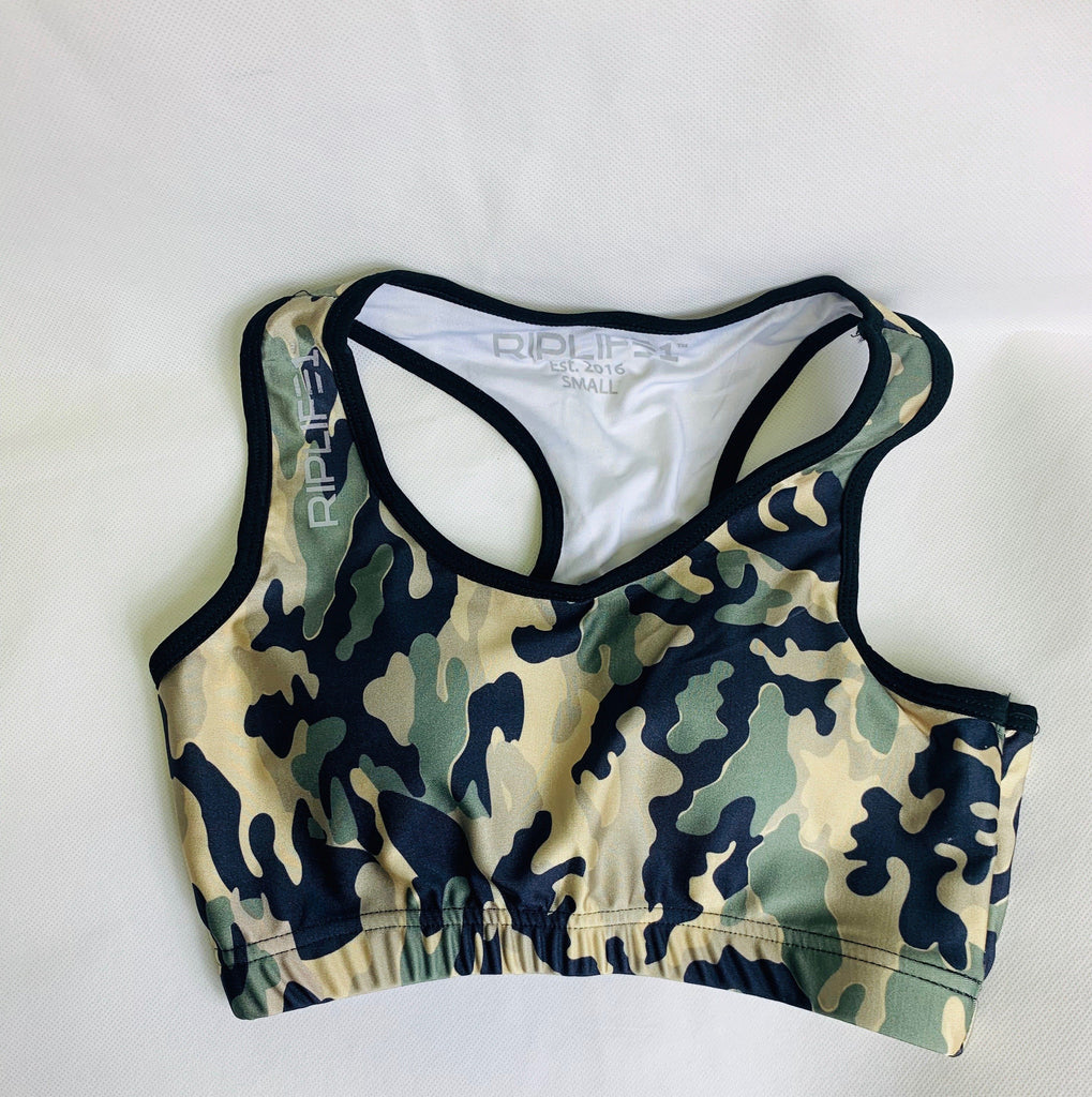 Camo Sports Bra - RIPLIFE1
