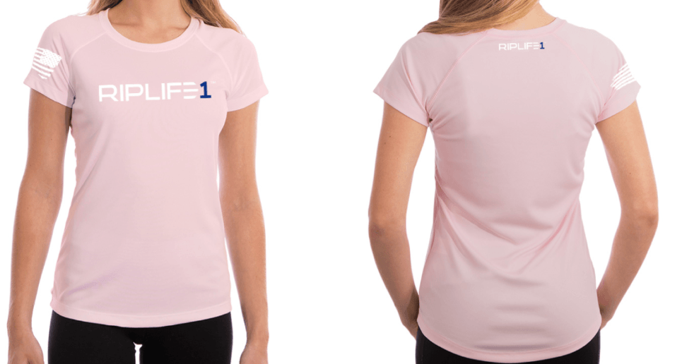 CoolTec Womens Pink Short Sleeve - RIPLIFE1