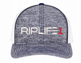Heather Trucker White PUFF RED 1 - RIPLIFE1