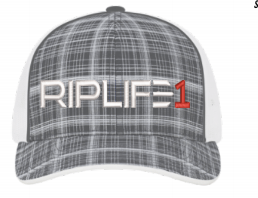 PLAID Trucker White PUFF RED 1 - RIPLIFE1