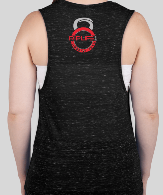 CROSSFIT TEAM WOMEN'S TANK - RIPLIFE1