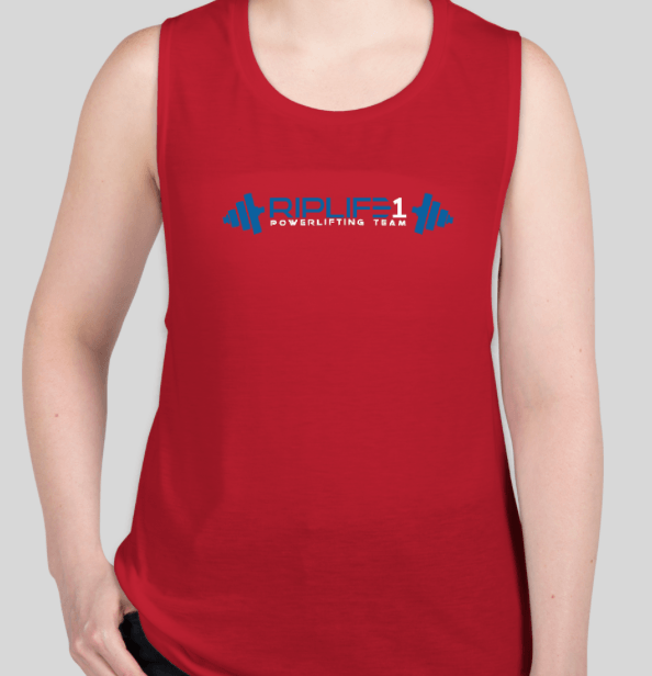 POWER LIFTING TEAM WOMEN'S TANK - RIPLIFE1