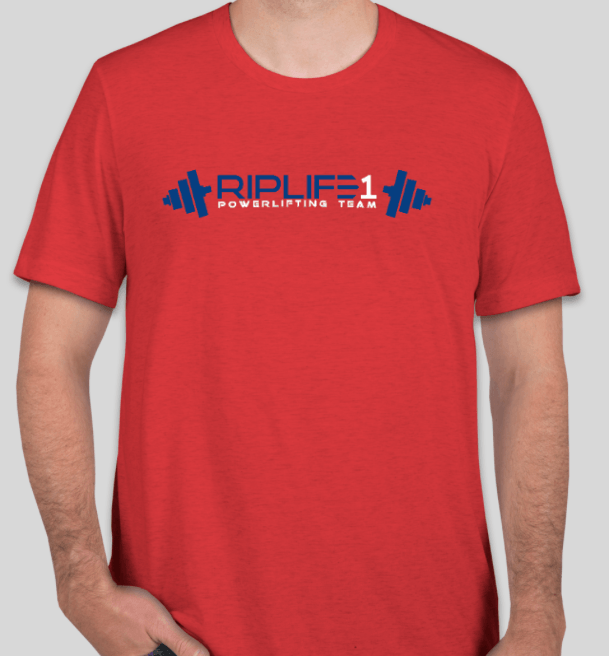 POWER LIFTING TEAM T-shirt -UNISEX - RIPLIFE1