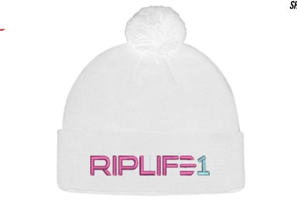 Snow White Pom Pom Hat - RIPLIFE1