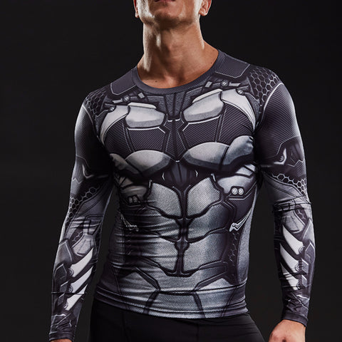 Batman Dry-Fit Long Sleeve Shirt