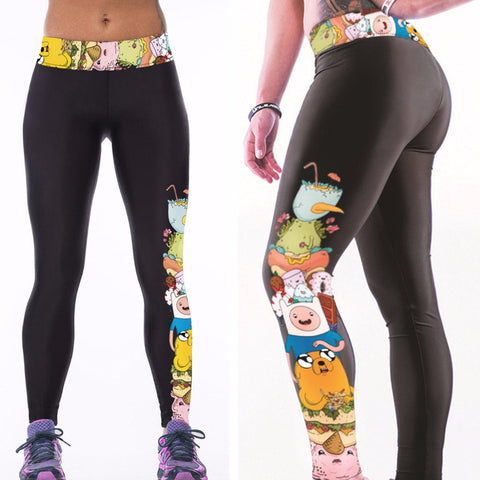 Adventure Time Women's Dry-Fit Leggings
