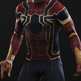 Spiderman Infinity War Dry-Fit Long Sleeve Shirt