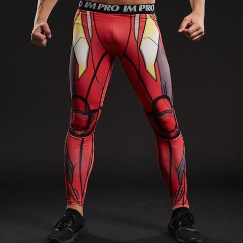 Iron Man Dry-Fit Pants