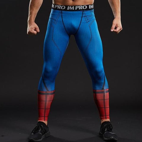 e0f07fd6f7fcb1 Spiderman Dry-Fit Pants – Gym Super Heroes