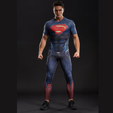 Superman Dry-Fit Compression Pants