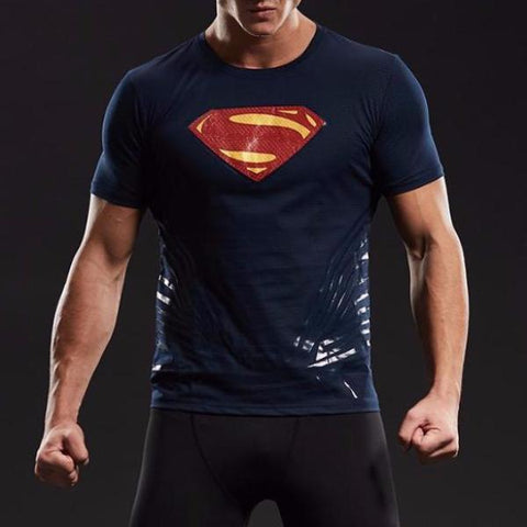 cd014527 Superman Dry-Fit Shirt – Gym Super Heroes