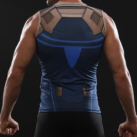 31a7234efe80e Thanos Infinity War Dry-Fit Tank Top – Gym Super Heroes