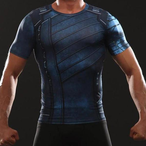 Winter Soldier Infinity War Dry-Fit Shirt
