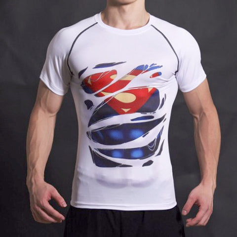 Alter Ego Shirt - Superman Alter Ego Compression Shirt